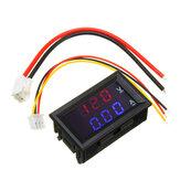 Mini voltmètre numérique ampèremètre DC 100V 10A Panel Amp Volt Tension Current Meter Tester 0.56