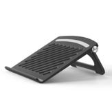 Laptop dobrável Stand Holder Suporte de resfriamento de notebook Base de resfriamento do riser Base para notebook de jogos de até 17 polegadas