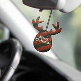 Decorazionedifragranzadellecarted'attaccatura della bevanda rinfrescante di aria della carta del profumo del pendente del Natale di forma delle corna dei formichieri