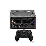 Super Console X PC Коробка DDR4 8GB RAM HDD 2TB ROM 60000 Games TV Game Console 5G Wifi Bluetooth Win 10 Mini PC для Dota 2 LOL PC для PSP PS1 PS2 Игровой плеер Wii SEGA MAME с Геймпад