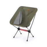 Naturehike YL08 Camping Folding Chair 600D Wear Resisting Non-slip Beach Fishing Chair Ultralight Portable Leisure Travel Max Load 120kg
