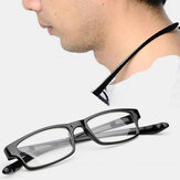 Unisex Hanging Neck Portable Easy Carry Elastic Expanding Legs Reading Glasses Presbyopia Glasses