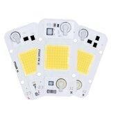 AC220V 20W 30W 50W LED COBチップスマートICフラッドライトスポットライトDIY照明用ドライバー不要