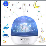 Romantique LED Cosmos Ocean Starry Star Night Light Projector Night Light USB Gift