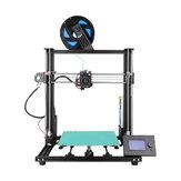 Anet® A8 Plus Semi-DIY Neuer 3D-Drucker Satz 300 * 300 * 350 mm Druckgröße mit magnetischem beweglichem Bildschirm / Dual-Z-Achsen-Stützbandeinstellung