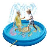 Lexiang LXPS1003 Aufblasbare Schwimmmatte Wassersprinkler Spielkissen Watring Pad für Kinder