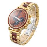 BOBO BIRD Luxury Wooden Men Quartz Watch