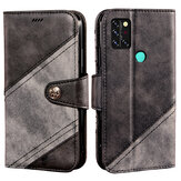 Bakeey voor Umidigi A9 Pro Case Retro Business Flip met Multi-Card Slot Portemonnee Stand PU Leather Shockproof Full Body Protective Case