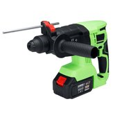 3 In 1 Cordless Electric Hammer SDS Impact Hammer Drill 11800mAh Lithium Power Drills Drilling Powerful Tool With 2 Batteries