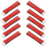 10 stuks 2.54XH 22AWG 13CM 8S 9Pin Balance kabel siliconen draad voor Lipo-batterijen