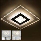 28W moderno simple acrílico cuadrado LED luces de techo sala de estar dormitorio casa Lámpara AC220V