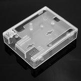 ABS Transparente Caso Suporte de tampa de plástico UNO R3 Módulo Geekcreit para Arduino - produtos que funcionam com placas oficiais Arduino
