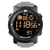 NORTH EDGE Laker Schrittzähler Herzfrequenz Kalorien Telefon Erinnerung Stoppuhr Sportuhr Bluetooth Smart Watch