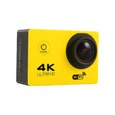 Tekcam F60 Sensor OV4689 4K 2.0inch 170 HD Wide Angle Lensa Wifi Sport DV with Accessories