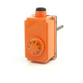 Termostato ajustável de 220V 16A 0-90 graus para a bomba de água da caldeira