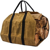 kaki Brandhout Carrier Log Carrier Hout draagtas voor Haard 16oz Waxed Canvas