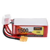 ZOP POWER 18.5V 1500mAH 100C 5S Lipo Batteria Con spina XT60 per FPV Racing Drone