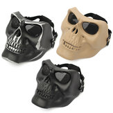 Tactical Skull Skeleton Full Face Beveiligingsmasker War Game Jacht Kostuum Party