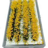 28 unidades mini conjunto de flores de vidro modelo em miniatura faça você mesmo cenário paisagem areia decoração de mesa