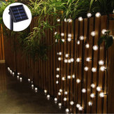 5 M 20 LED Energia Solar Snow Ball Fairy String Luz Ao Ar Livre Do Jardim Da Lâmpada de Natal Holiday Party Decor