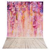 35x23 بوصة شجرة الأرجواني رومانسية التصوير خلفية خلفية استوديو الدعامة