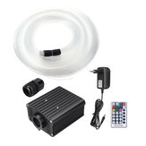 100 V-240 V 16 W RGBW Fibra Óptica LED Light Star Teto Kit 450 Pcs 2 M 0.75 mm de Cristal Brilhante
