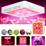 85-265V 600W Vollspektrum LED Grow Light SMD3030 Wachstumslampe IP55 Wasserdicht für Hydroponikanlage + 2 Lüfter
