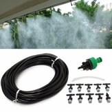 10m 33ft Gardening Plant Micro Drip Irrigation System Patio Atomization Micro Sprinkler Cooling Kit