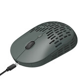 HXSJ T38 Wireless Mouse 2.4G Wireless Rechargeable Mouse Silent Hole Colding Mice For Office Home