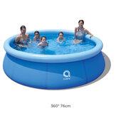 Piscine JILONG 360x76cm 1-6 persone Piscine fuori terra con vasca gonfiabile per bambini e adulti