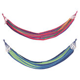 STRDC001 Ultralight Camping Hammock with Storage Bag Portable Rainbow Canvas Outdoor Activities Swing