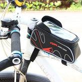 Cbr pacote de telefone celular de tela de toque de bicicleta quadro da bicicleta saco para 6.0 polegada ou menos telefone