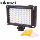 Ulanzi 96LED LED Video Light Photo Studio On-camera Light dengan Hot shoe