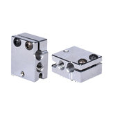 BIGTREETECH® Aluminum Volcano Heater Block For Volcano Hotend PT100 Sensor Thermistor Cartrodge Heat Block 3D Printer Parts