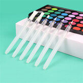 6pcs/set Brush Pen Set Solid Watercolor Painting Pen Large Capacity Water Storage Pen Soft Painting Brush Stationery Students Supplies