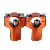 28mm Handlebar Mounts Clamp Riser 52mm Height For Dirt Bike KTM 125-530cc SX/EXC