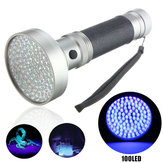 100 LED UV Blacklight Escorpião Lanterna Super Bright Detection Light Exterior