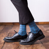 Men Business Large Size Medium Long Tube Socks