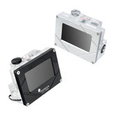 LSJ-ZNRBマウントバージョンインテリジェント水冷システムモニター温度流量空気圧ウォーターポンプPWMブラック/シルバー