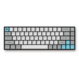 AKKO 3068 - Silent Mecânico Teclado 68 Teclas bluetooth Modo Dual PBT Keycap Cherry MX Switch Gaming Keyboard