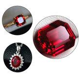13x18mm 26.35CT Голубь кроваво-красный рубиновый прямоугольник огранки AAAA + свободные украшения из драгоценных камней