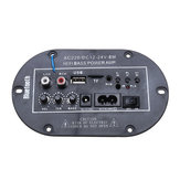 220V 8 Inch High Power Enthusiast Audio Card Digital With bluetooth Car Amplifier