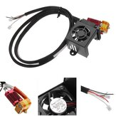 Creality 3D® Full Assembled MK10 Extruder Hot End Kits With 2PCS Cooling Fans For Ender-3 3D Printer
