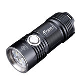 Fitorch P25 4x XPG3 LEDs 3000LM 5 Modes IPX-8 Waterproof LED Flashlight 26350 Li-ion Battery