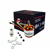 Flash Hobby D2836 750KV 880KV 1120KV 1500KV 2-4S Brushless Motor For RC Airplane