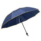 2-3人屋外ポータブル3折り畳み傘130センチメートル防水抗UVキャンプサンシェード