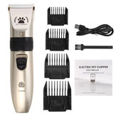 USB Rechargeable Pet Hair Clipper Pet Shaver Dog Electric Clipper Haircut Pet Head Hair Clipper