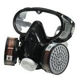 Maska pełnotwarzowa Gogle Respirator Maska przeciwgazowa Farba odporna na kurz Chemiczna maska przeciwpożarowa
