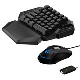 Gamesir VX AimSwitch Tastatur Maus Gamepad Converter Mechanische Einhandtastatur Für PS4/PS3 / Xbox One/Nintendo Switch / PC