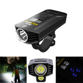 Nitecore BR35 1800LM 2x 2 U2 OLED Display Dual Distance Beam 6800mAh Lithium Battery Rechargeable Bike Front Light